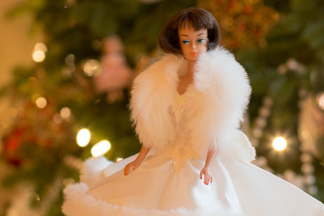 Happy Holiday Barbie Dolls - 6