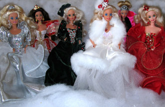 Happy Holidays Barbie Dolls 4