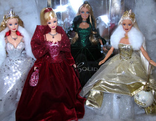 Barbie Holiday Doll Collection - 4 years