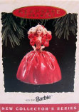 1993 Hallmark Barbie Christmas Ornament first release