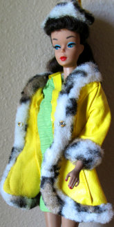 Number 3210 Montgomery Ward Reissue Barbie Dressed in Great Coat