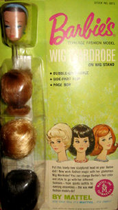 Barbies Wig Wardrobe from 1964 to 1967 number 871