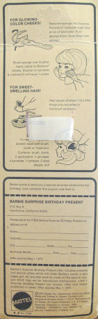 Sweet 16 Barbie doll from 1974-75